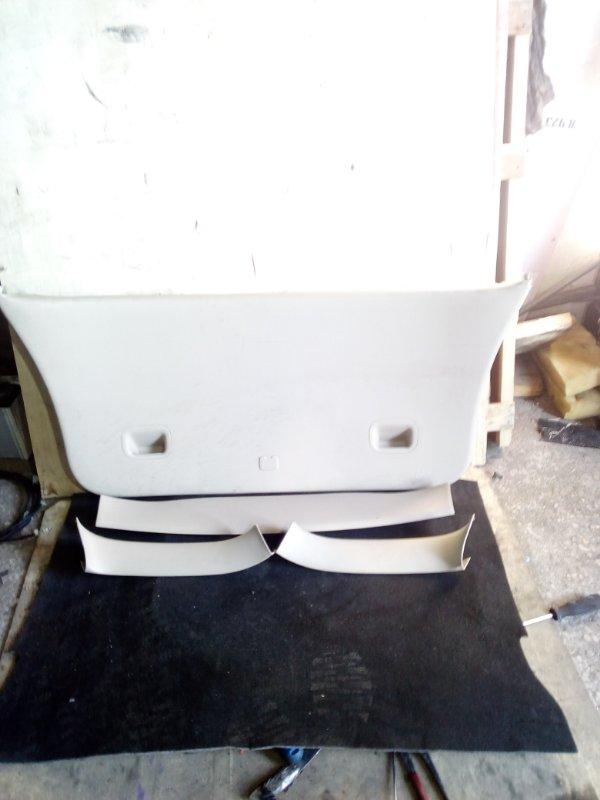 Обшивка двери багажника Toyota Corolla Spacio NZE121 (б/у)