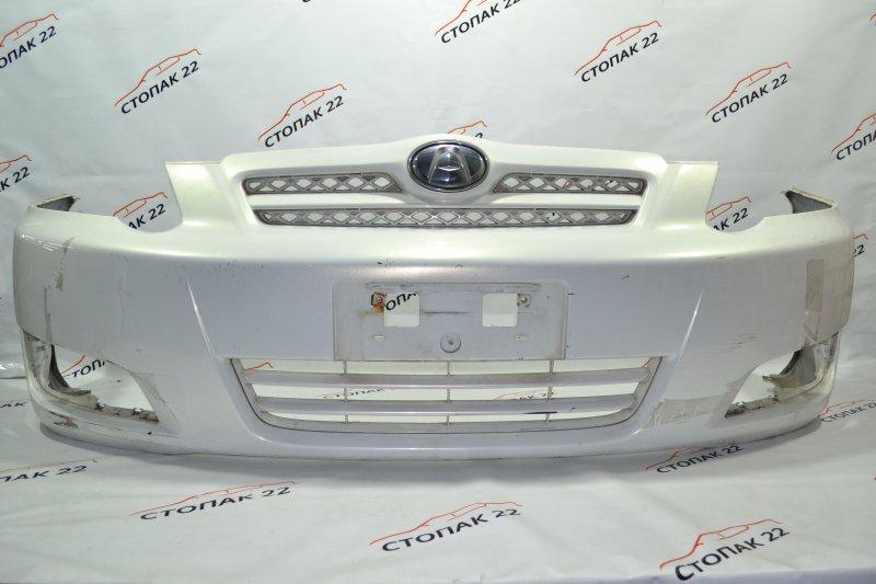 Бампер Toyota Allex NZE121 1NZ 2004 передний (б/у)