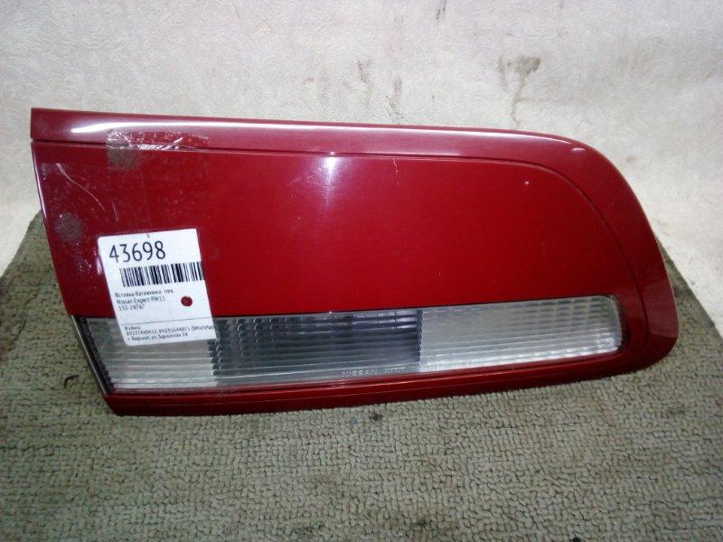 Вставка багажника Nissan Expert PW11 левая (б/у)