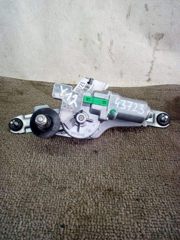 Моторчик заднего дворника Nissan Wingroud Y12 (б/у)