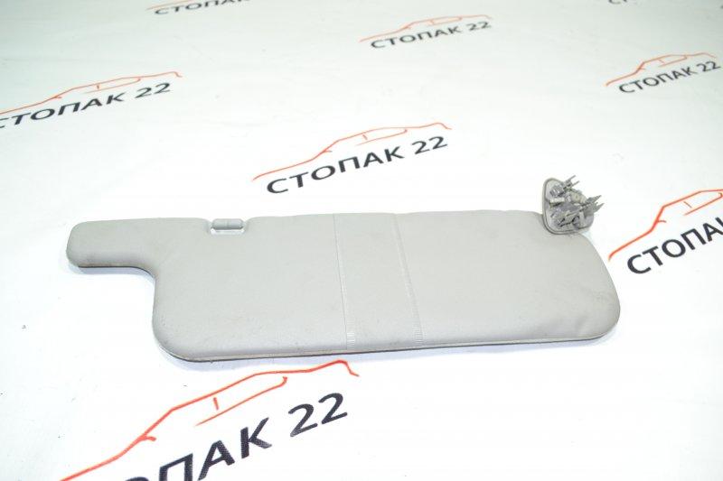 Козырек солнцезащитный Toyota Corolla NZE120 1NZ 2000 правый (б/у)