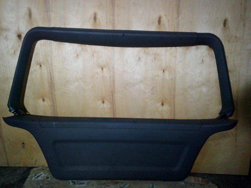Обшивка двери багажника Mitsubishi Airtrek CU2W 2000 (б/у)