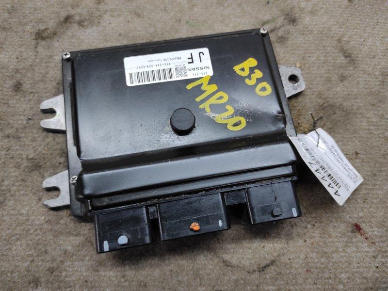 Блок управления двс Nissan Lafesta B30 MR20 2006 (б/у)
