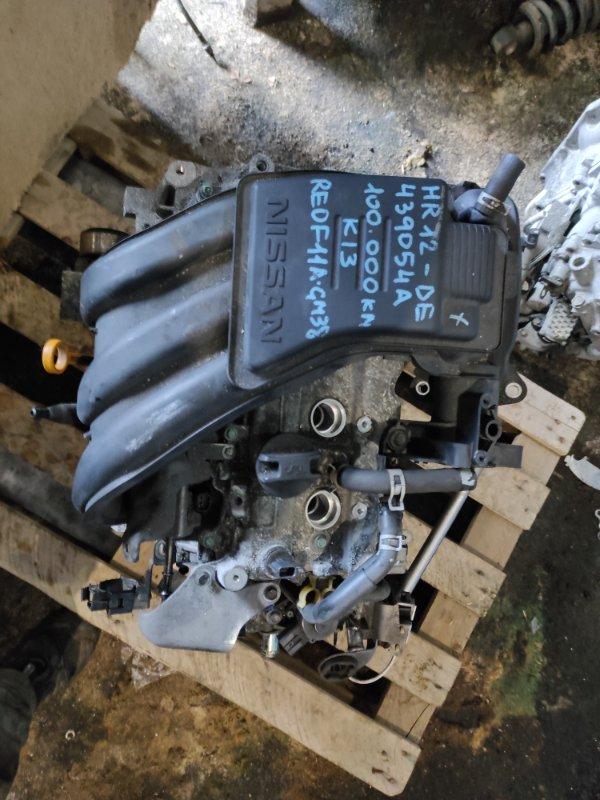 Двигатель Nissan March K13 HR12 2010 (б/у)