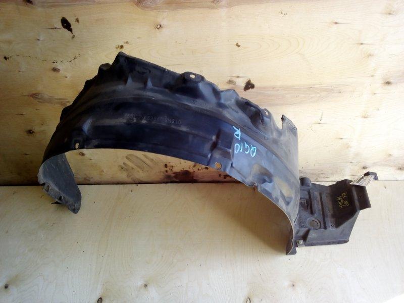 Защита крыла Nissan Bluebird Sylhpy G10 передняя правая (б/у)