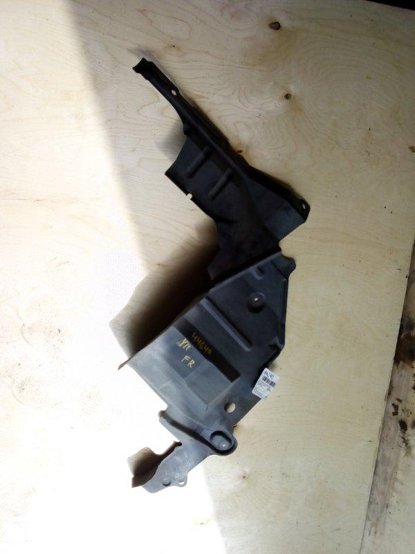 Защита двигателя Nissan Ad Y11 QG15 передняя правая (б/у)