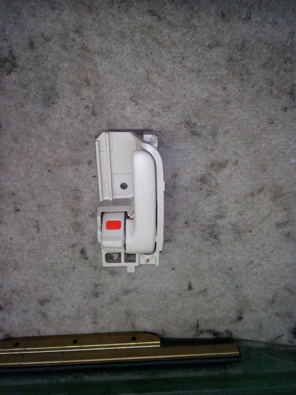 Ручка двери внутренняя Toyota Corolla NZE121 задняя левая (б/у)