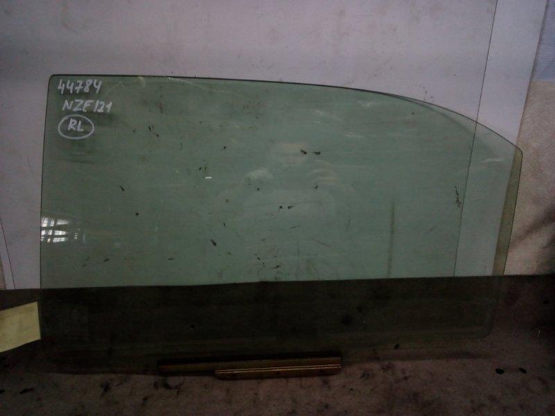 Стекло двери Toyota Corolla NZE121 заднее левое (б/у)