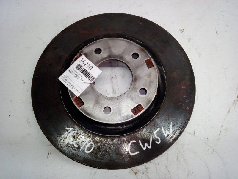 тормозной диск Mitsubishi Delica CV5W/Lancer GY5W/Outlander CW5W/CW5W передний б/у (294*26)