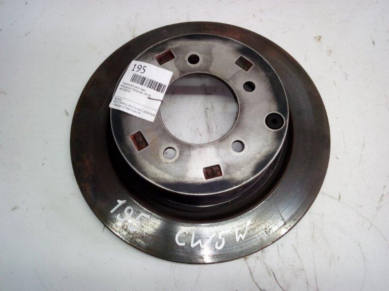 Тормозной диск Mitsubishi Outlander CW5W задний (б/у)