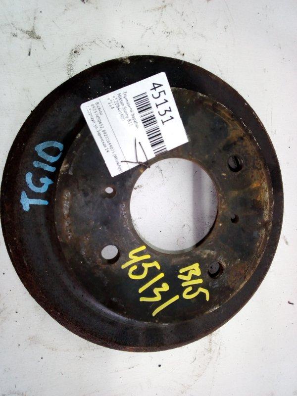 Тормозной барабан Nissan Sunny B15 (б/у)