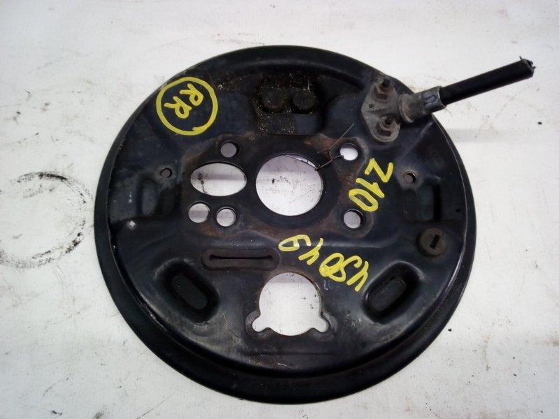 Тормозной опорный щит Nissan Cube Z10 задний правый (б/у)