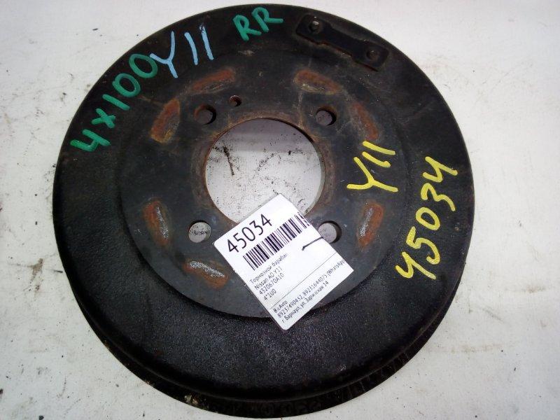 Тормозной барабан Nissan Ad Y11 (б/у)