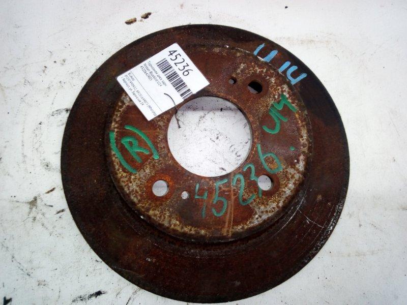 Тормозной диск Nissan Bluebird U14 задний (б/у)