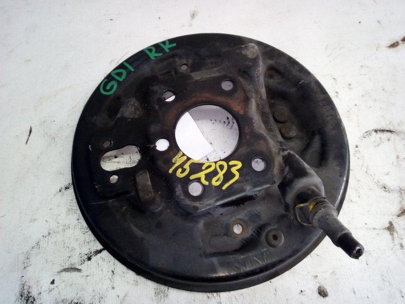 Тормозной опорный щит Honda Fit GD1 задний правый (б/у)