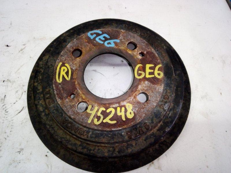 Тормозной барабан Honda Fit GE6 (б/у)
