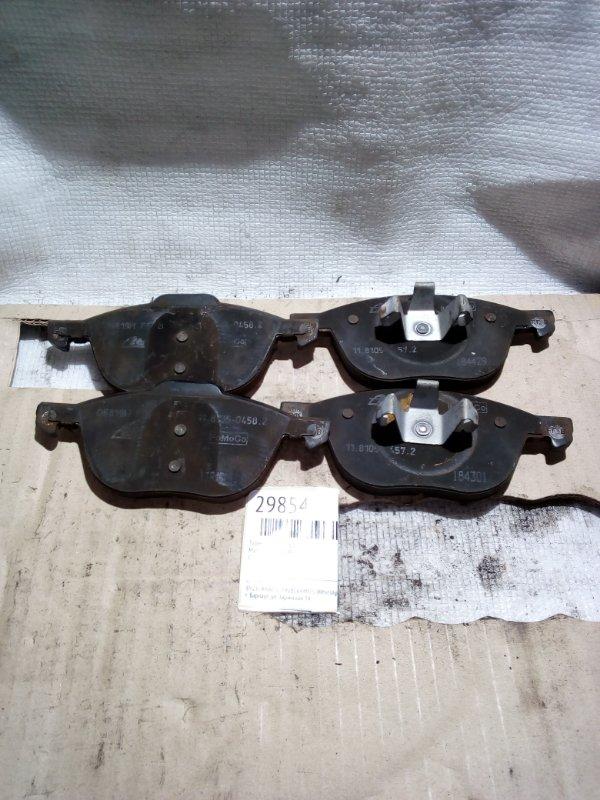 Тормозные колодки Mazda Axella BLFFW переднее (б/у)