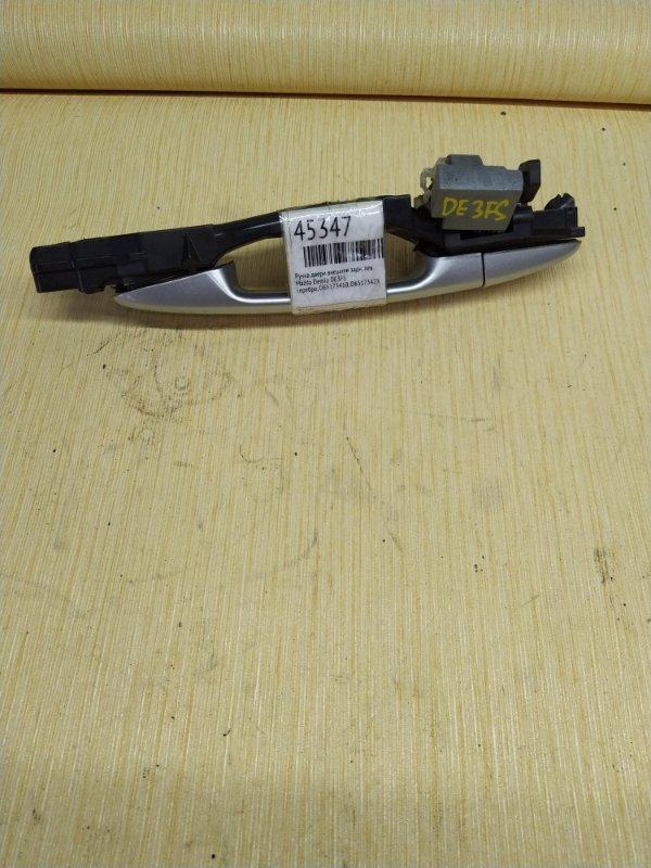 Ручка двери внешняя Mazda Demio DE3FS задняя левая (б/у)