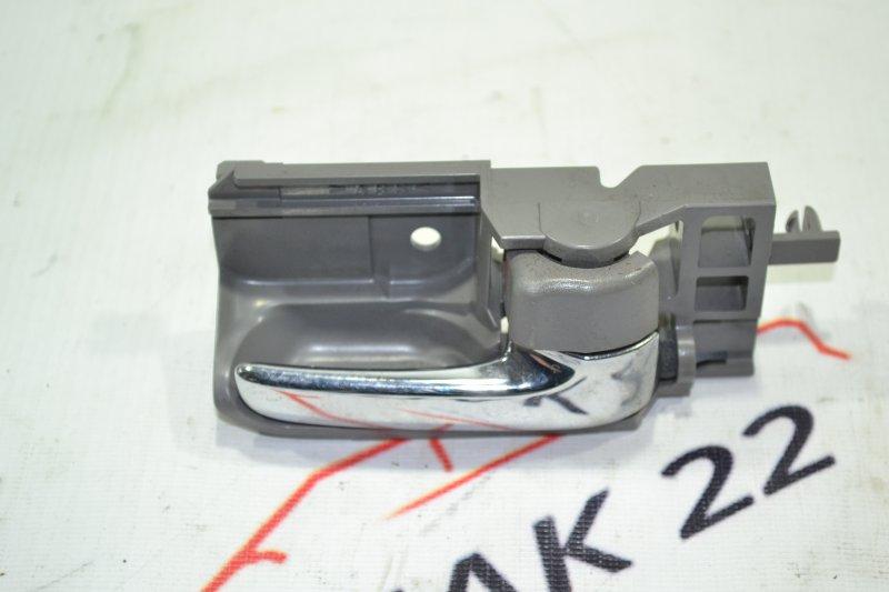 Ручка двери внутренняя Toyota Corolla NZE121 1NZ 2002 правая (б/у)