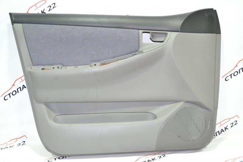 Обшивка двери Toyota Corolla NZE121 1NZ 2002 передняя левая (б/у)