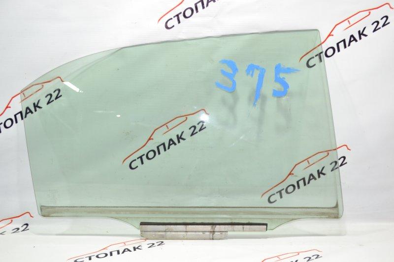 Стекло двери Toyota Corolla NZE121 1NZ 2002 заднее правое (б/у)