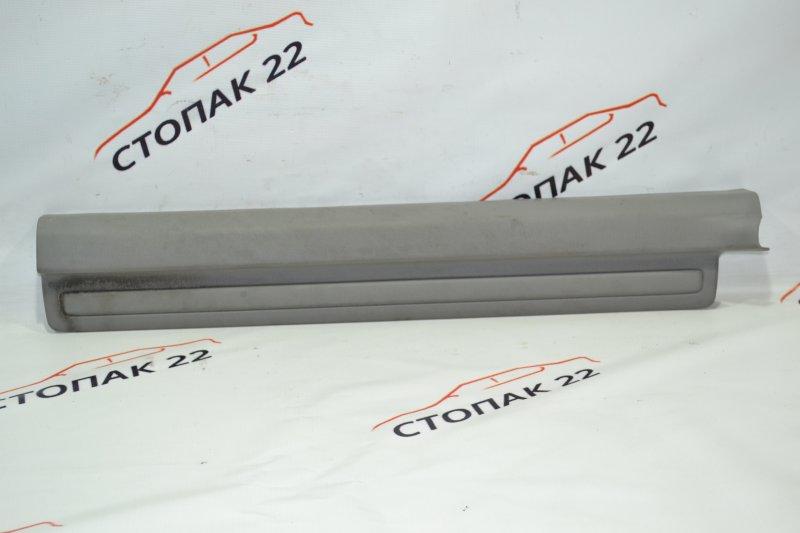 Накладка на порог Toyota Corolla NZE121 1NZ 2002 передняя левая (б/у)
