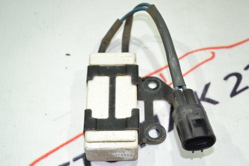 Резистор вентилятора охлаждения Toyota Corolla NZE121 1NZ 2002 (б/у)