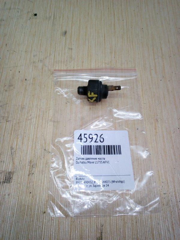 Датчик давления масла Daihatsu Move L175S KFVE (б/у)