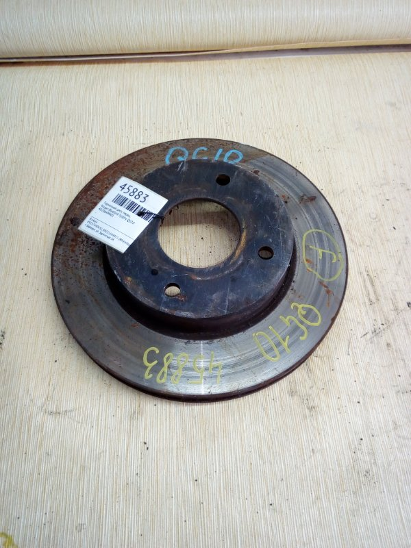 Тормозной диск Nissan Bluebird Sylphy QG10 передний (б/у)
