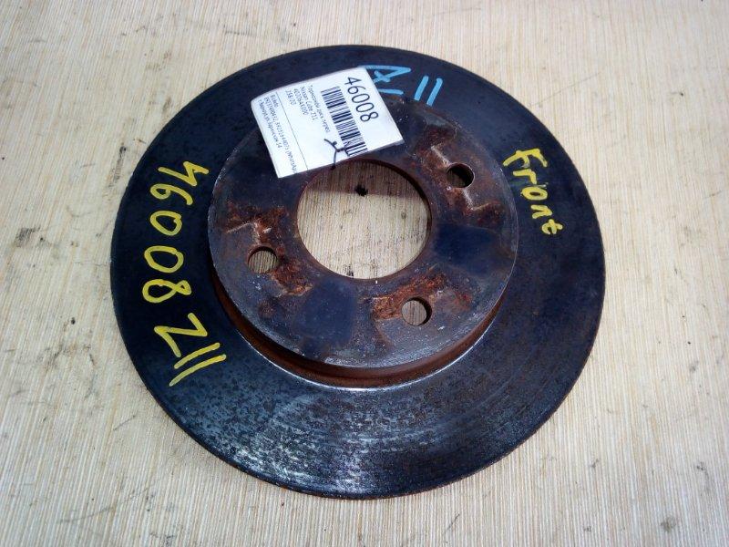 Тормозной диск Nissan Cube Z11 передний (б/у)