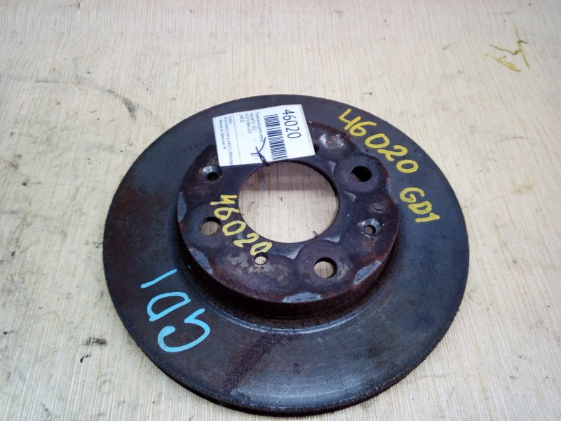 Тормозной диск Honda Fit GD2 передний (б/у)