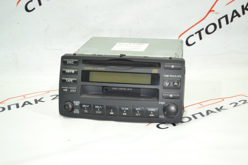 Магнитофон Toyota Corolla NZE121 1NZ 2002 (б/у)