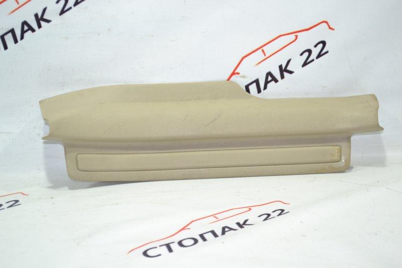 Накладка на порог Toyota Corolla NZE121 1NZ 2002 задняя правая (б/у)