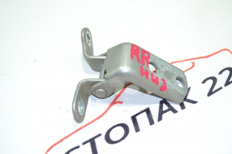 Петля двери Toyota Corolla NZE121 1NZ 2002 задняя правая нижняя (б/у)