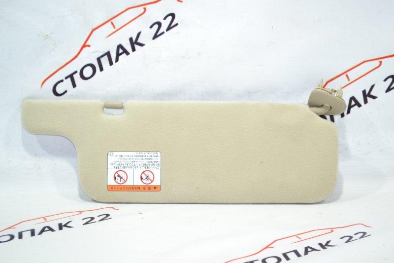 Козырек солнцезащитный Toyota Corolla NZE121 1NZ 2002 левый (б/у)