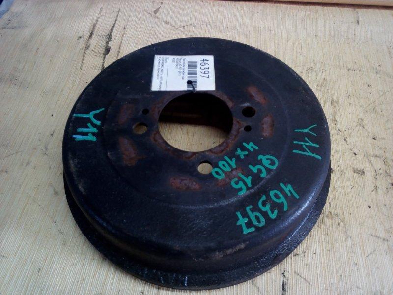 Тормозной барабан Nissan Ad Y11 QG15 задний (б/у)