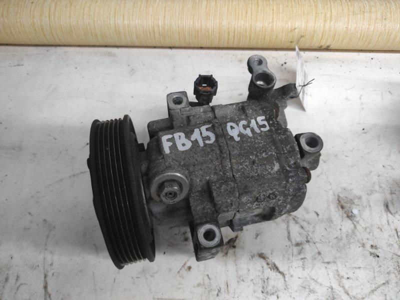 Компрессор кондиционера Nissan Sunny B15 QG15 (б/у)