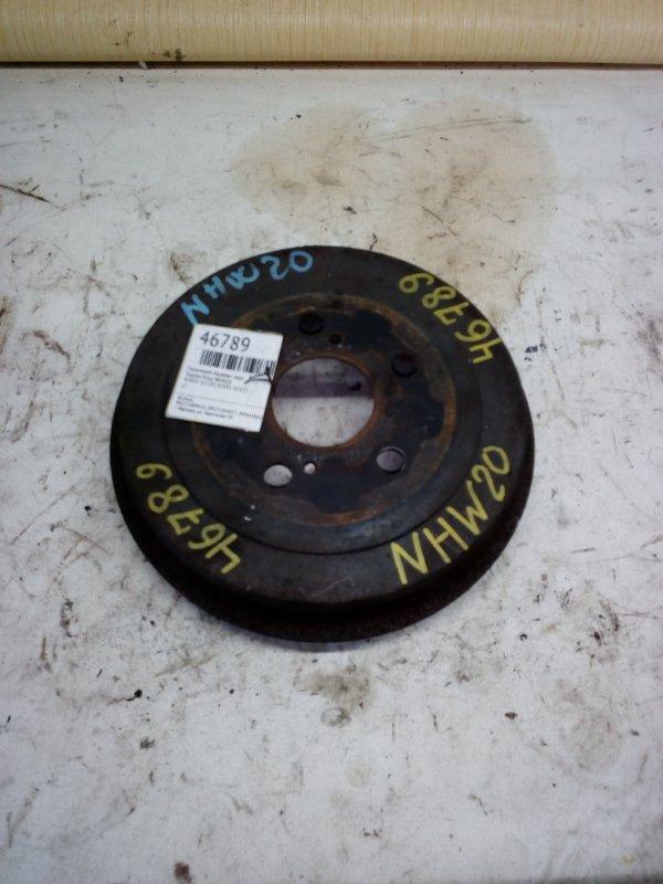 Тормозной барабан Toyota Prius NHW20 задний (б/у)
