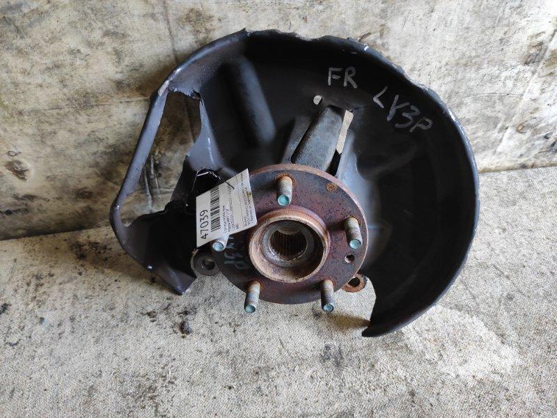 Ступица Mazda Mpv LY3P передняя правая (б/у)