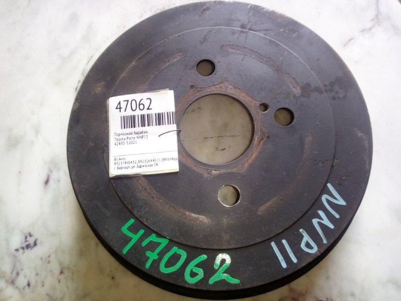 Тормозной барабан Toyota Porte NNP11 (б/у)