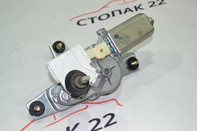 Моторчик заднего дворника Toyota Runx NZE121 1NZ 2002 (б/у)