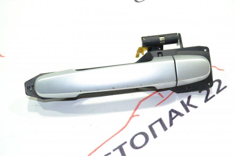 Ручка двери Toyota Runx NZE121 1NZ 2002 передняя левая (б/у)