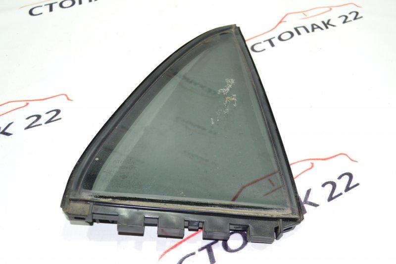 Форточка двери Toyota Runx NZE121 1NZ 2002 задняя правая (б/у)