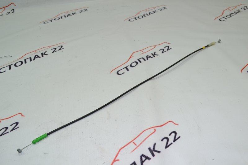 Тросик замка двери Toyota Runx NZE121 1NZ 2002 задний (б/у)