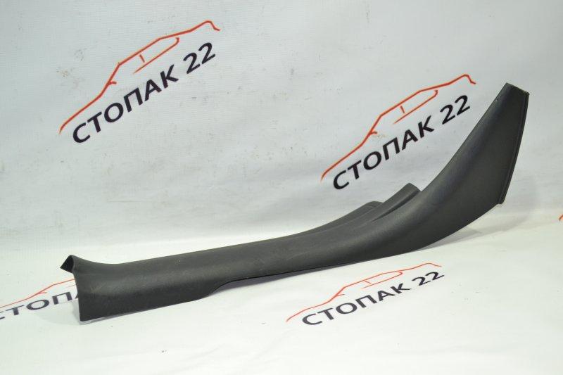 Накладка на порог Toyota Runx NZE121 1NZ 2002 задняя правая (б/у)
