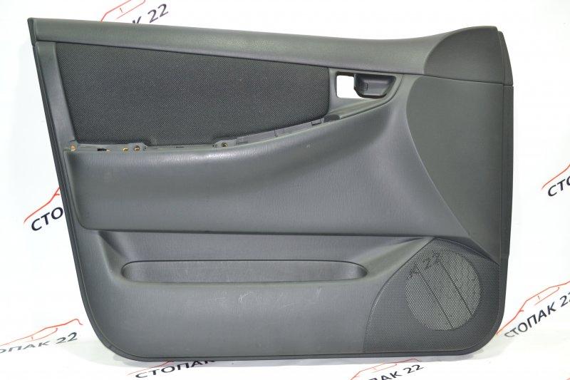 Обшивка двери Toyota Runx NZE121 1NZ 2002 передняя левая (б/у)