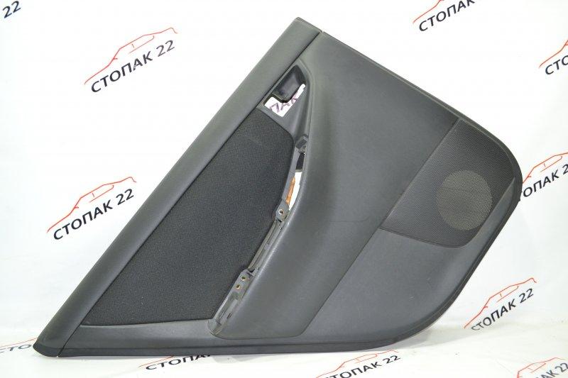 Обшивка двери Toyota Runx NZE121 1NZ 2002 задняя левая (б/у)