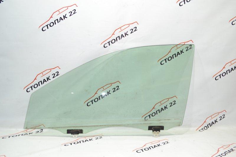 Стекло двери Toyota Runx NZE121 1NZ 2002 переднее левое (б/у)