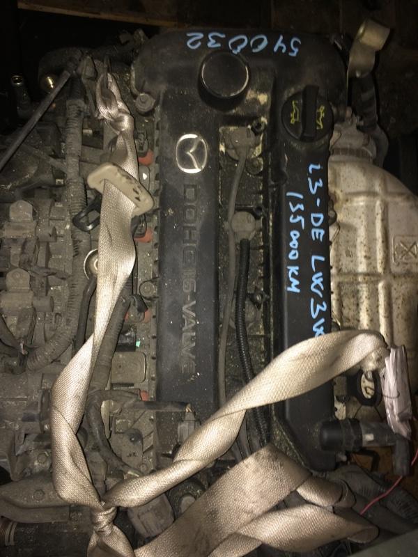 Двигатель Mazda Mpv LW3W L3DE (б/у)