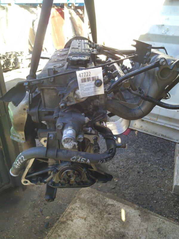 Двигатель Suzuki Cultus GC21S G15A 1995 (б/у)